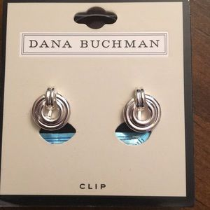 Dana Buchman clip on earrings